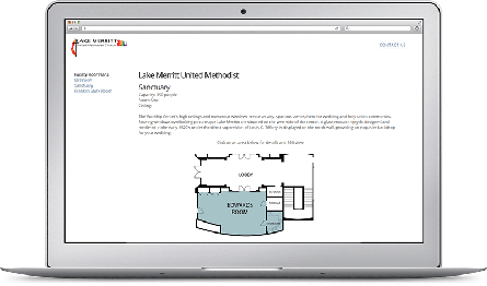 Aiambiq floor plan embedded into a website