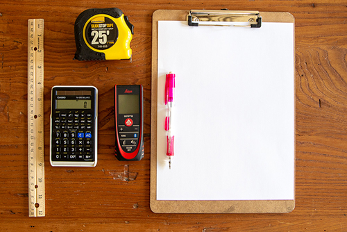 tools for drawing floor plans
